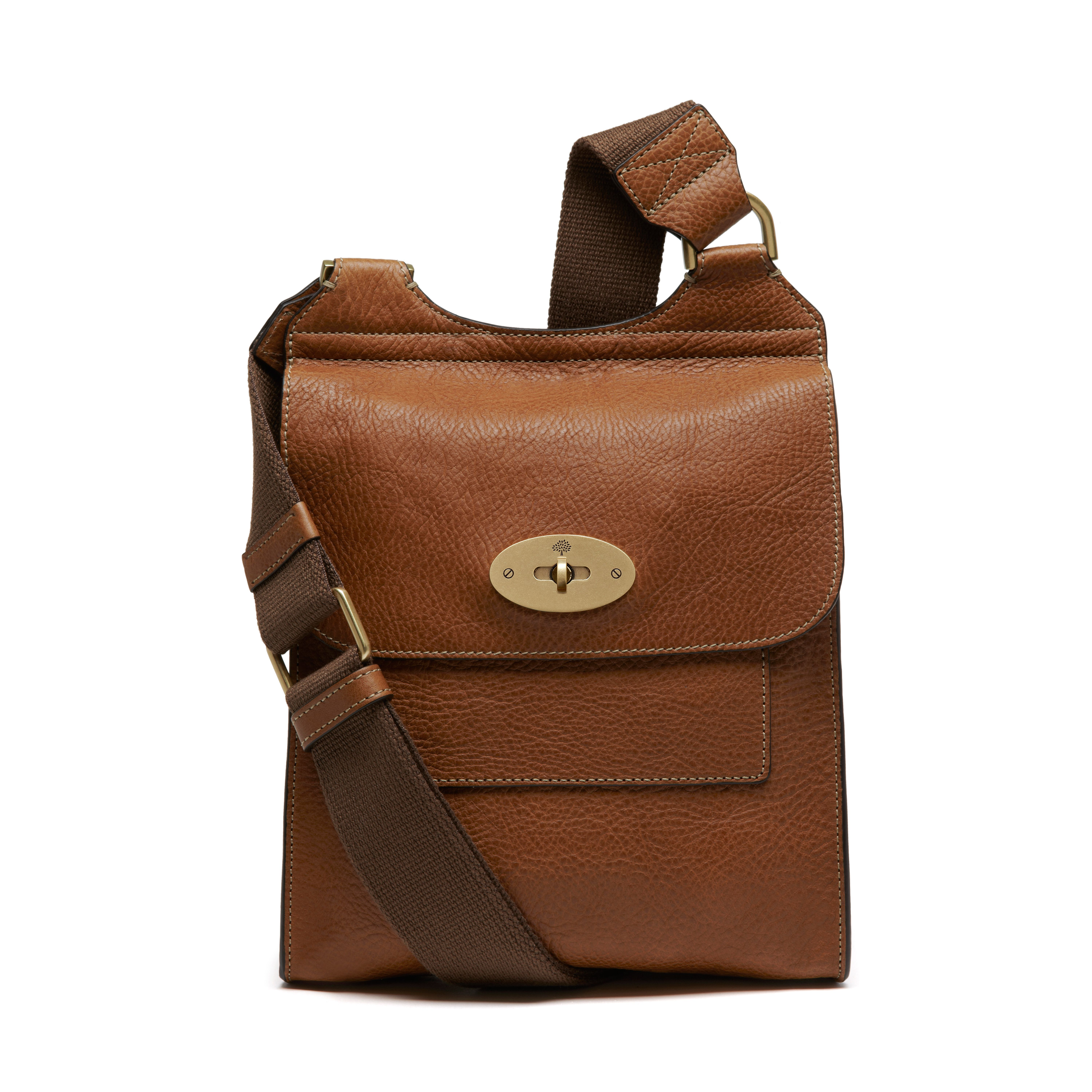 9603a90606 Classic   timeless Mulberry - Antony in Oak Natural Leather Mulberry  Messenger Bag