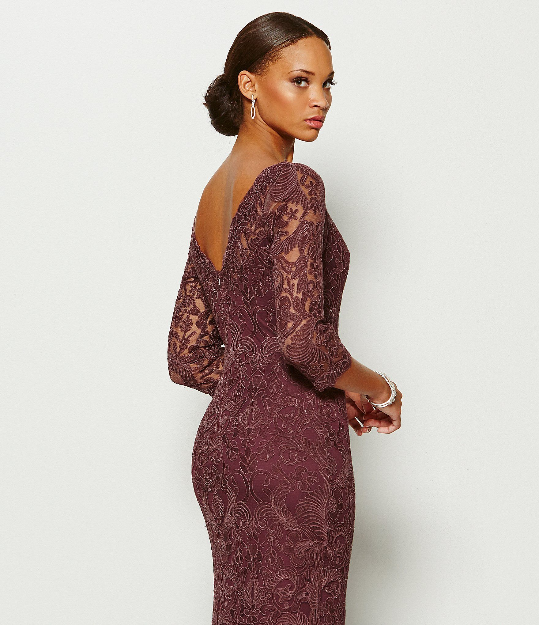 3bfebc1fb0 Shop for Tadashi Shoji Embroidered Lace Gown at Dillards.com. Visit Dillards.com  to find clothing