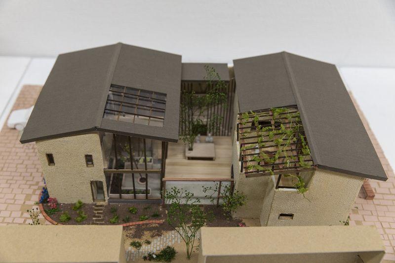 受賞作品 木の家設計グランプリ 建築デザイン 建築模型 住宅模型