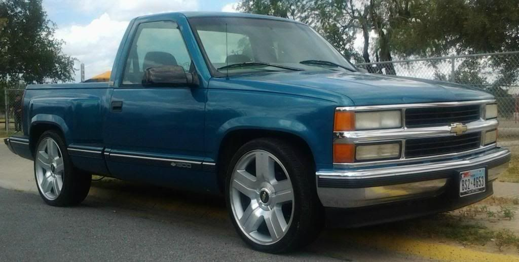 Old Chevy On Texas Edition Rims Dropped Trucks Pinterest Chevy
