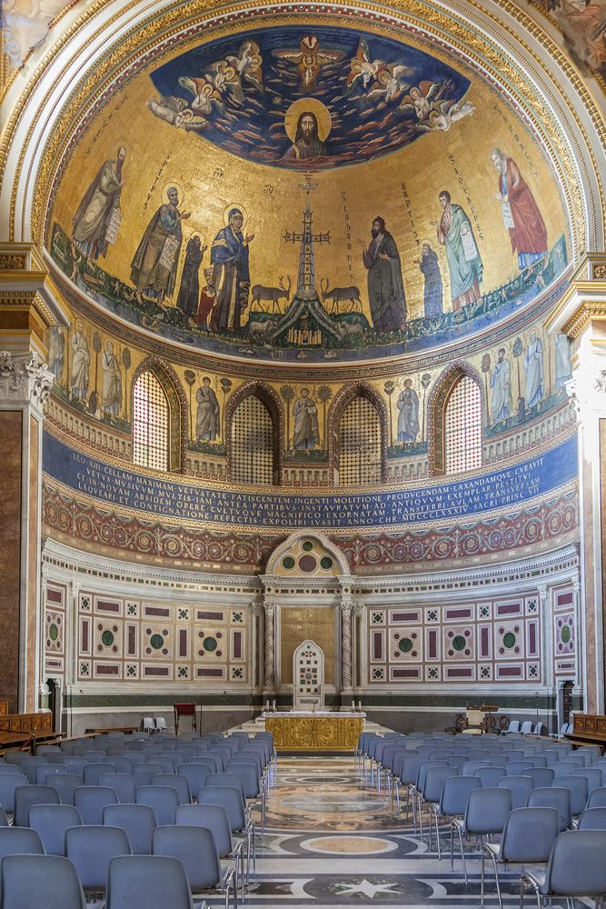 St John The Lateran Basilica In Rome Is The Oldest Of The Four Great Patriarchal Basilicas Of Rome In Ancient Times The Lan Basilica Sacred Buildings Rome