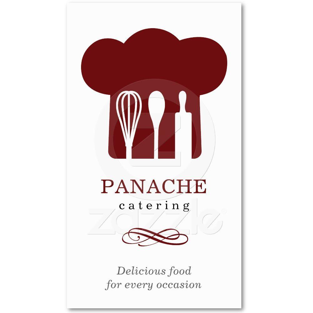 Chef Hat Business Card | Business cards, Business and Logos