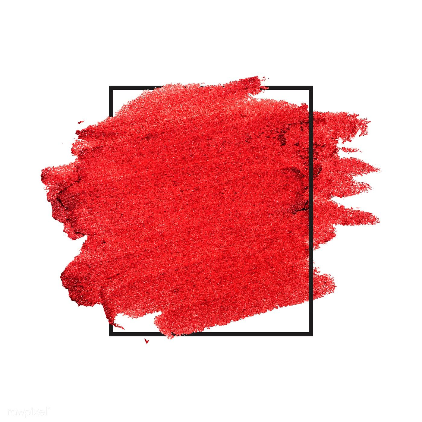 Red Brush Stroke Badge Vector Free Image By Rawpixel Com Ake Flower Background Wallpaper Poster Background Design Brush Strokes