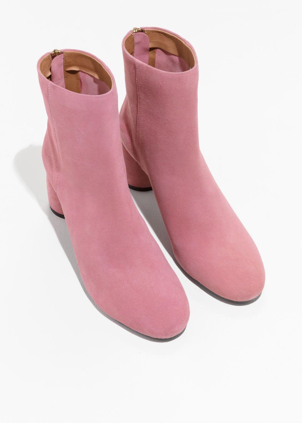 Cylinder Heel Boots - Pink Acheter Recommande Pas Cher Prix Pas Cher Frais De Port Offerts Meilleur Gros À Vendre Dédouanement Bas Prix Vente Très Pas Cher UrLzIVy