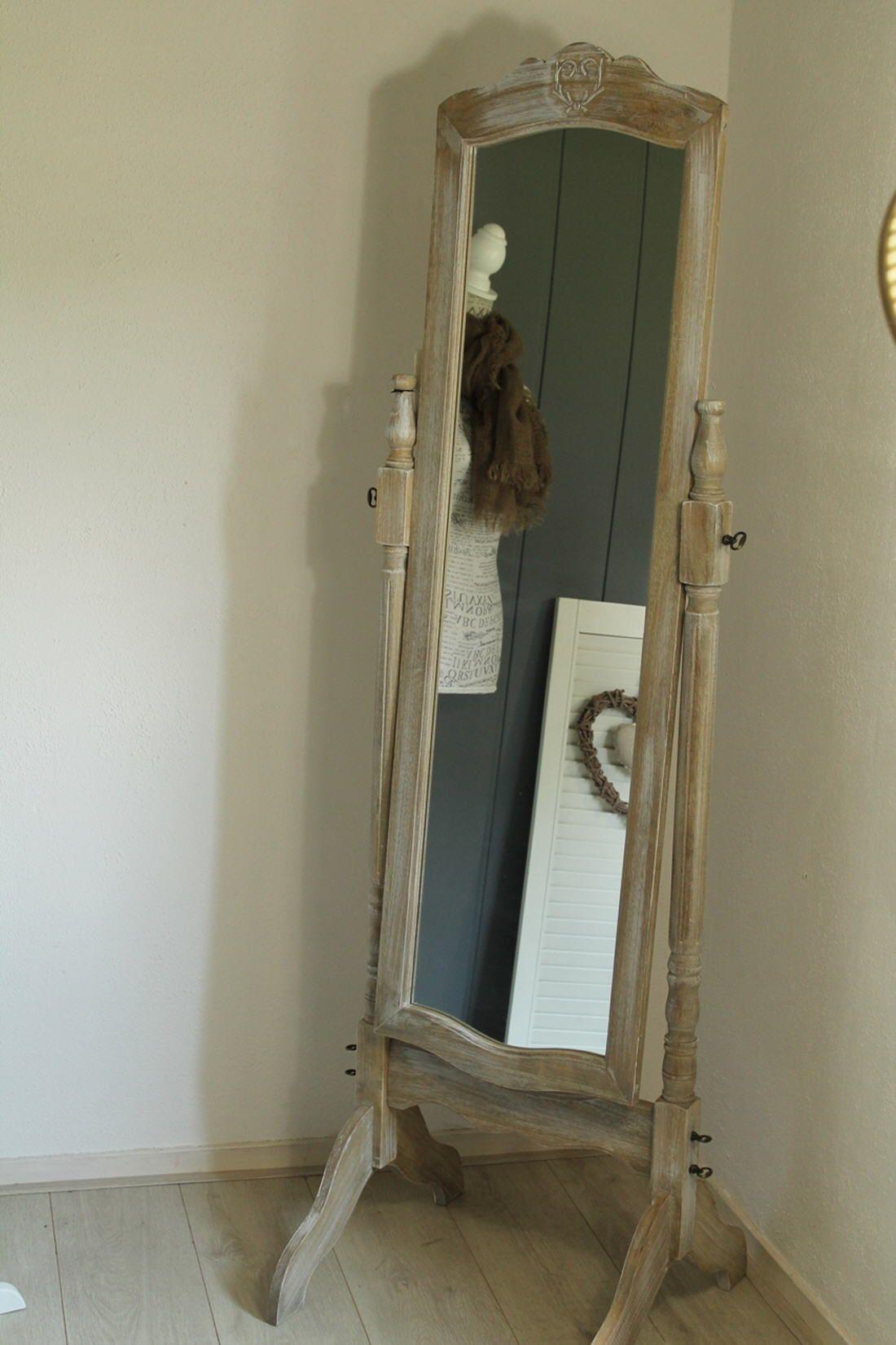 Grote Staande Spiegel : Grote spiegel woonkamer kopen verbazend spiegel barok wit
