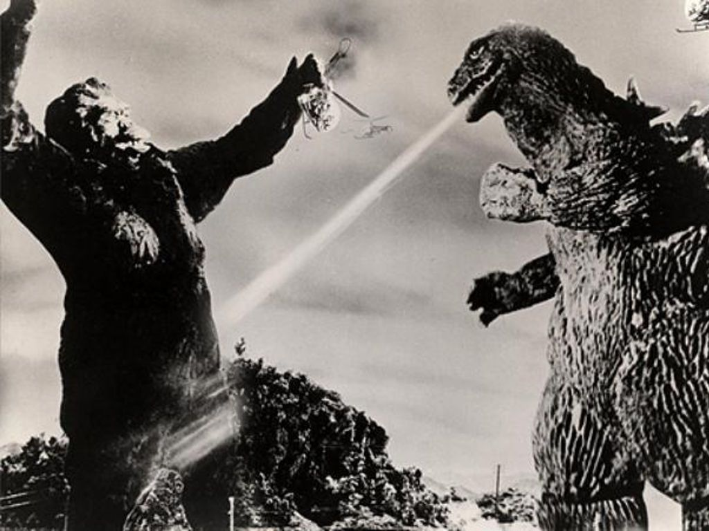 King Kong Ape Porn - Time for the Ape of the Day! Fun fact: Too much porn left Godzilla confused  about when it was acceptable to spit on another monster's crotch.