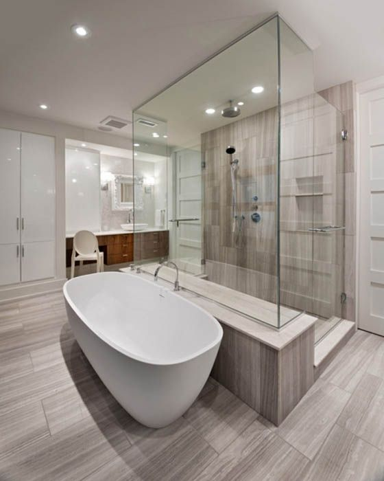 Big Bathrooms Ideas: 25 Beautiful Master Bedroom Ensuite Design Ideas
