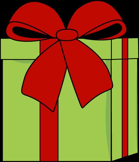 christmas green present with red bow clip art christmas digis rh pinterest com christmas present clipart images xmas present clipart