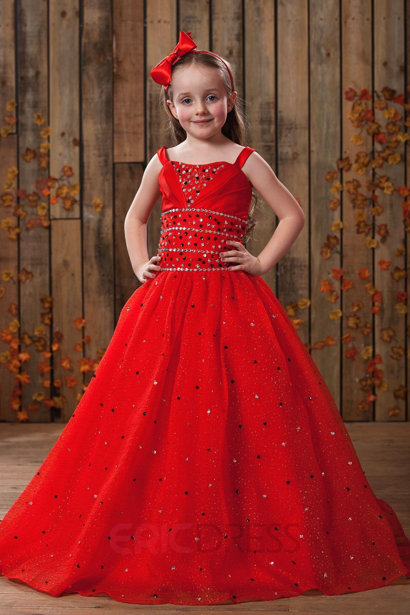 c54e1e336 ericdress.com offers high quality Amazing Ball Gown Floor-length Square  Neckline Sequins Flower Girl Dress Flower Girl Party Dresses unit price of  $ 104.49.