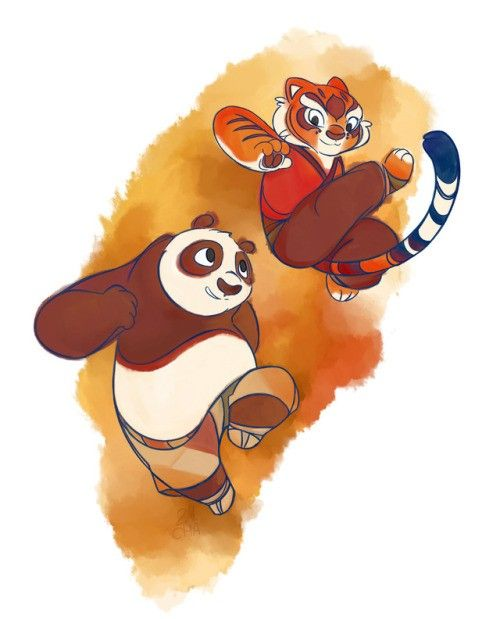 Pin De Luisa Retana En Kung Fu Panda 1 2 Y 3 And Fanart Arte De Panda Kunfu Panda Personajes Diseno De Personajes