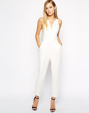 whistles abigail crepe jumpsuit white out pinterest standesamt hochzeitskleid und outfit. Black Bedroom Furniture Sets. Home Design Ideas