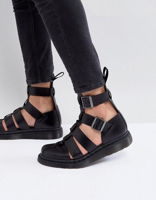 Dr Martens Vibal Closed Sandals In Black original 90th6L