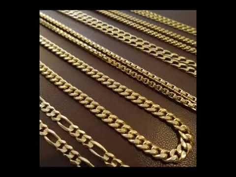 Cadenas de oro para mujer en guadalajara