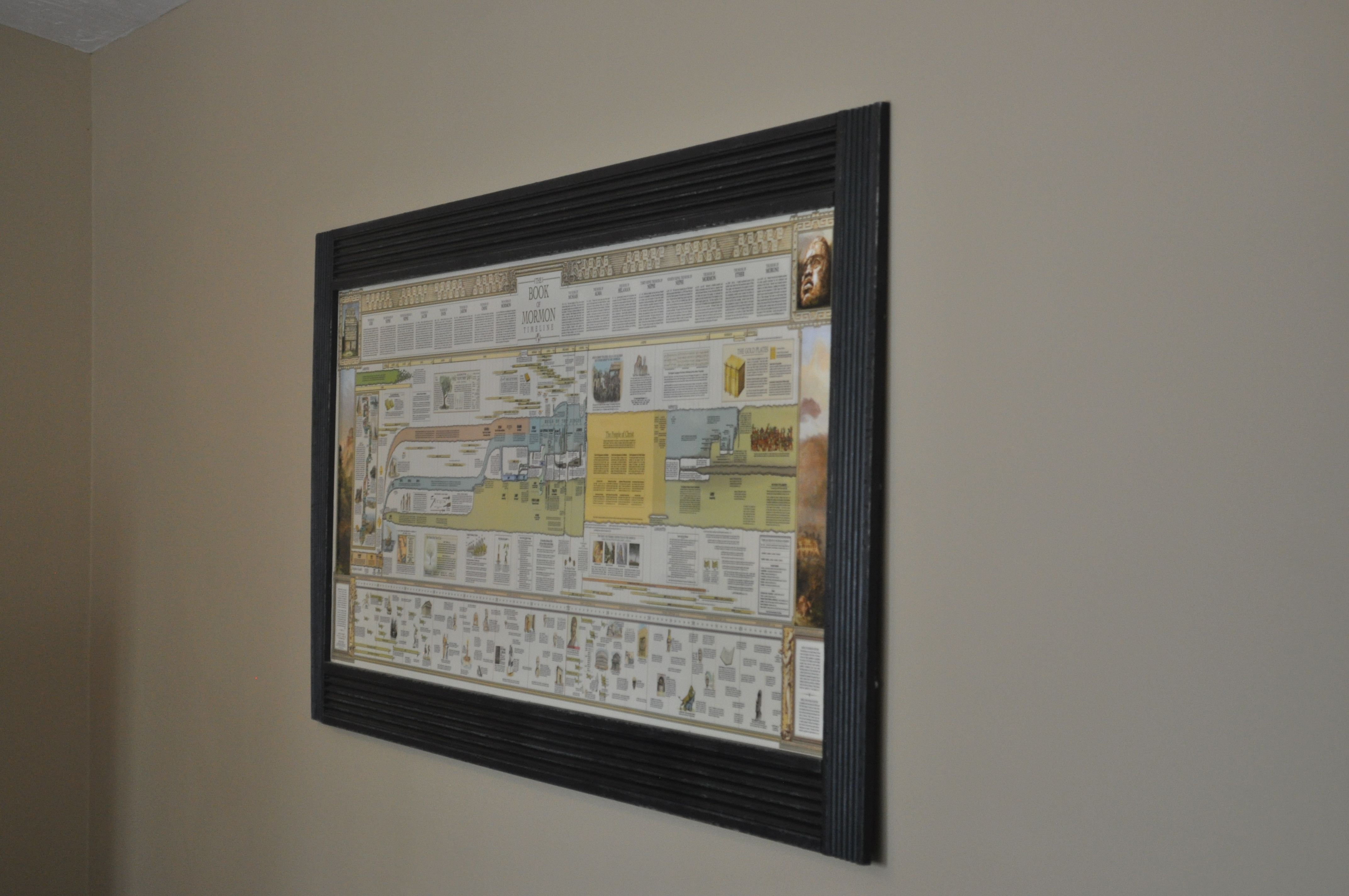 Book of mormon timeline laminated and framed do it yourself book of mormon timeline laminated and framed solutioingenieria Images