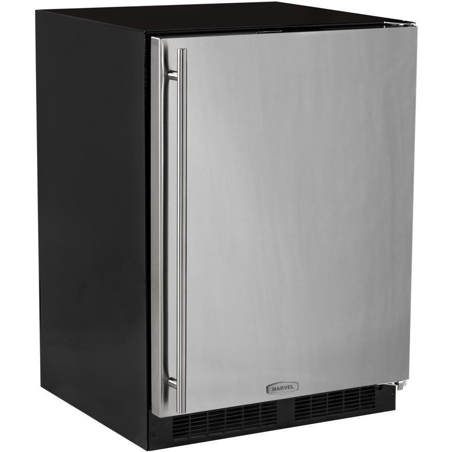 Marvel 24 Inch Right Hinge Compact Refrigerator With Door And