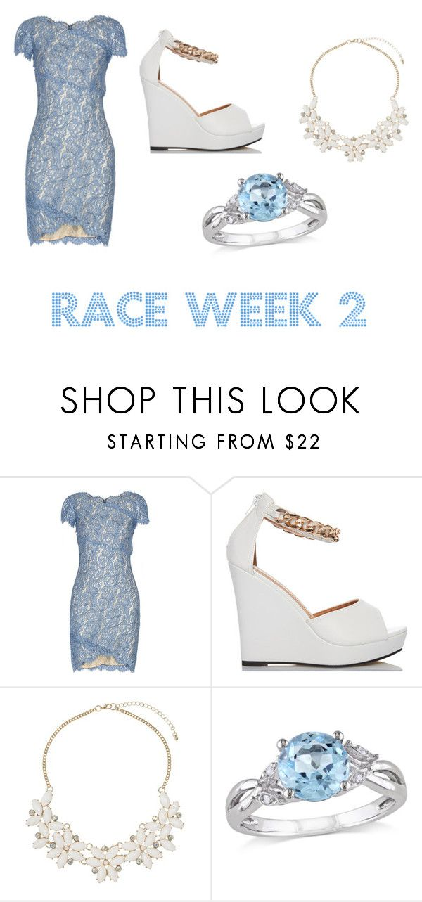 """""""RACE WEEK 2"""" by melanypajzos ❤ liked on Polyvore featuring Lover, Dorothy Perkins and Amour"""