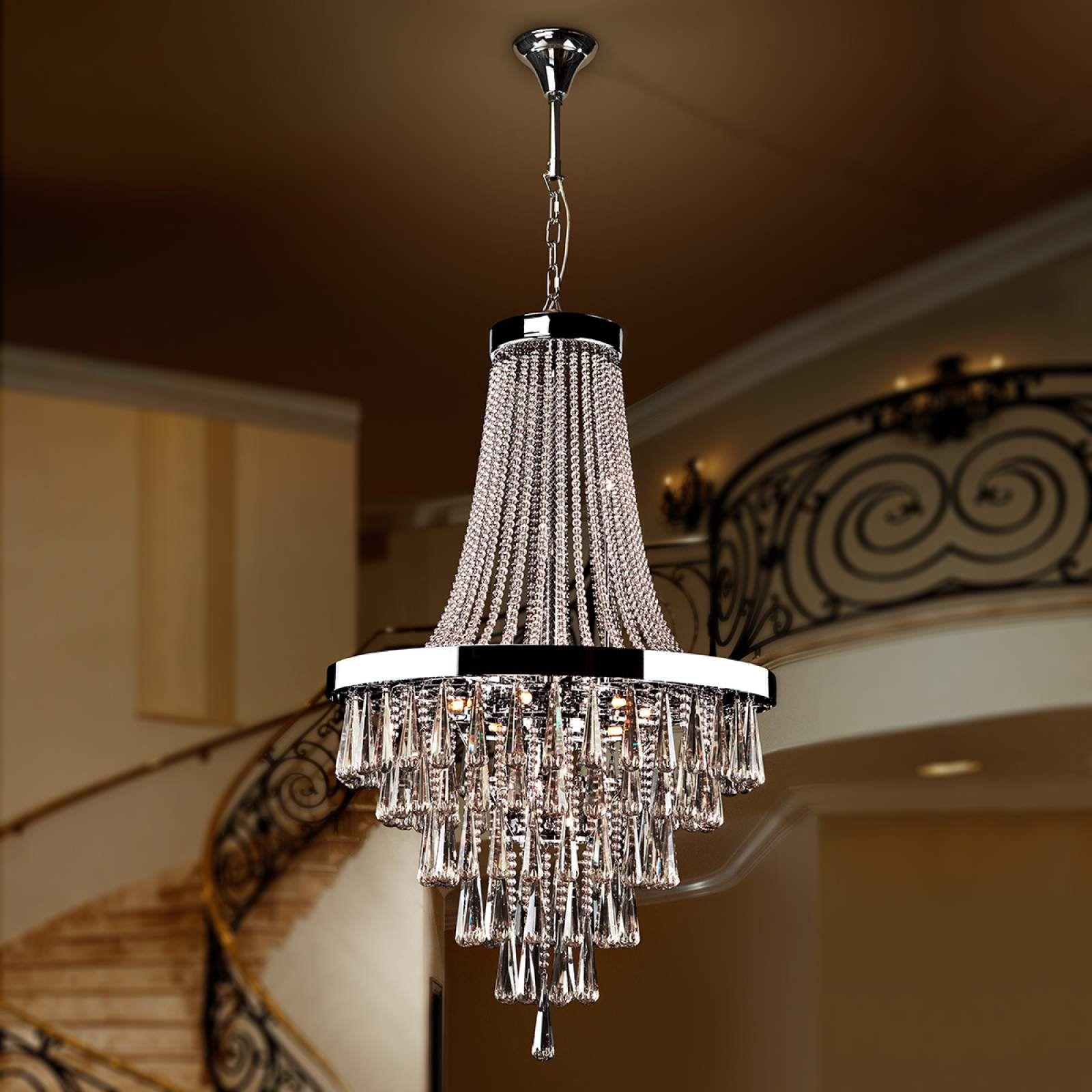 Moderne Kronleuchter Palace Von Schuller Silber Kronleuchter Beleuchtung Decke Und Kronleuchter Modern