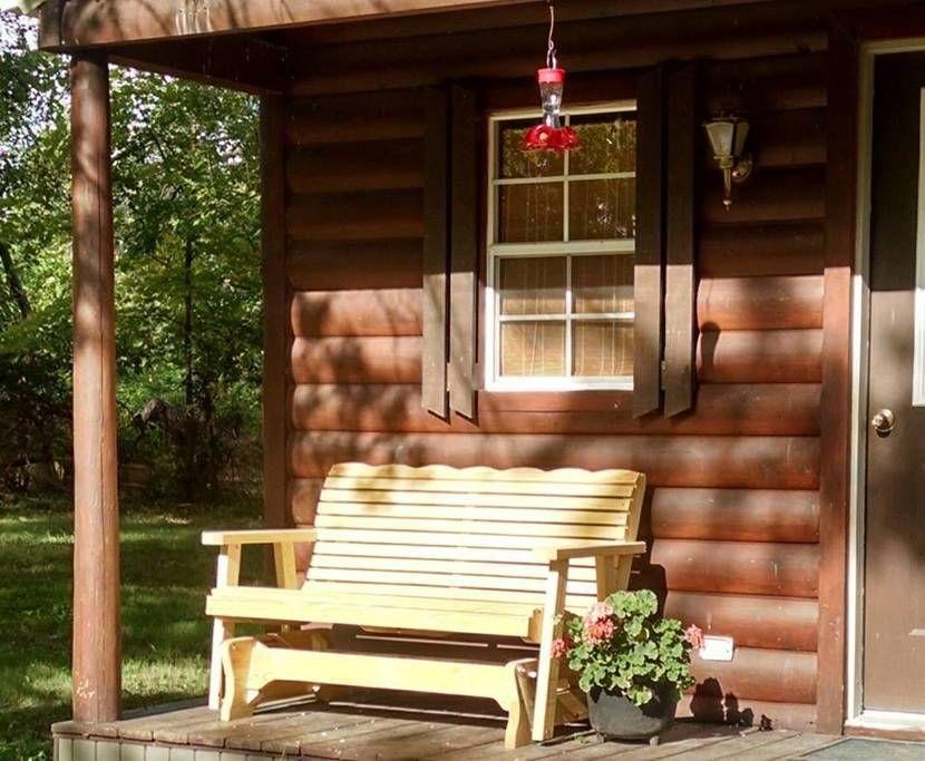 Winsor, MO; $85/night Tiny cabin along Katy Trail, on ranch?
