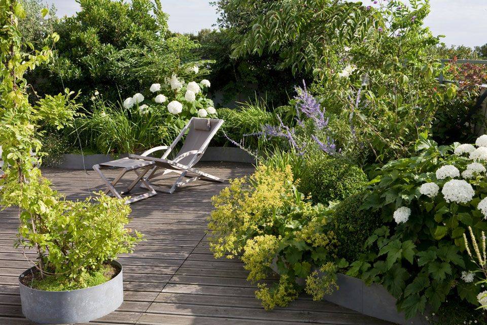 Paris terrasse boh me architecte xavier de chirac for Jardin xavier de chirac