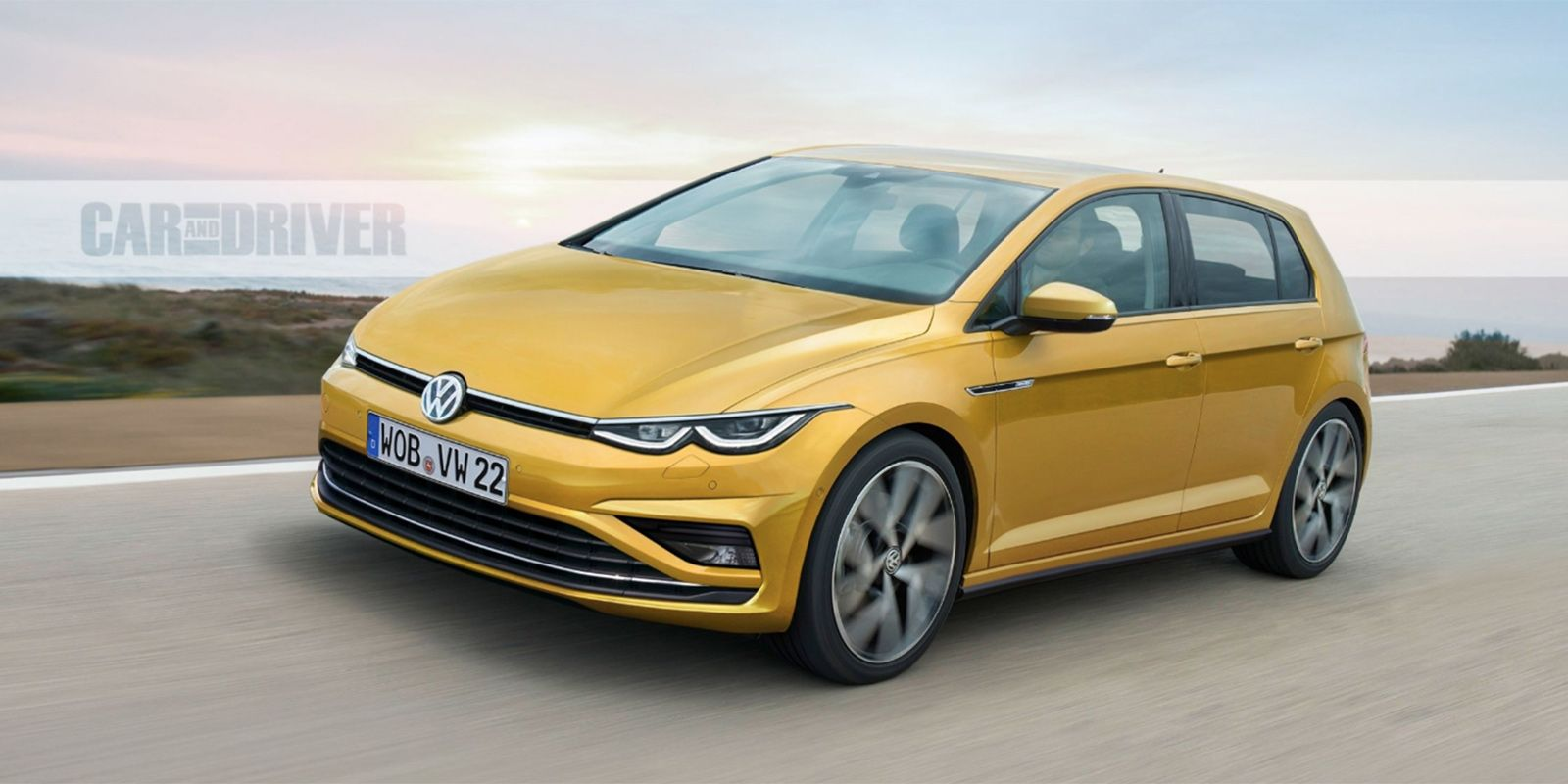 2020 Vw Golf New Model Car Volkswagen Volkswagen Tdi