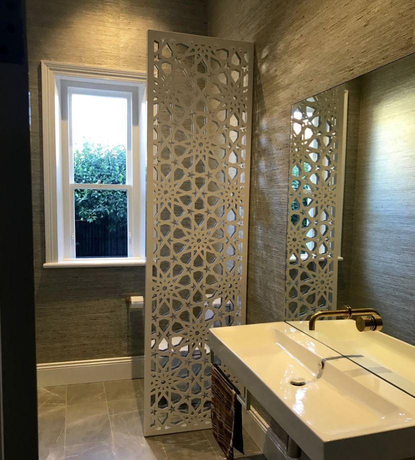 How To Cut Decorative Tile Alhambra2 Laser Cut Screen  Decorative Screens  Pinterest