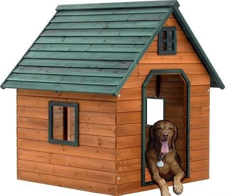 Pin On Dog Houses For The Extra Large Dogs