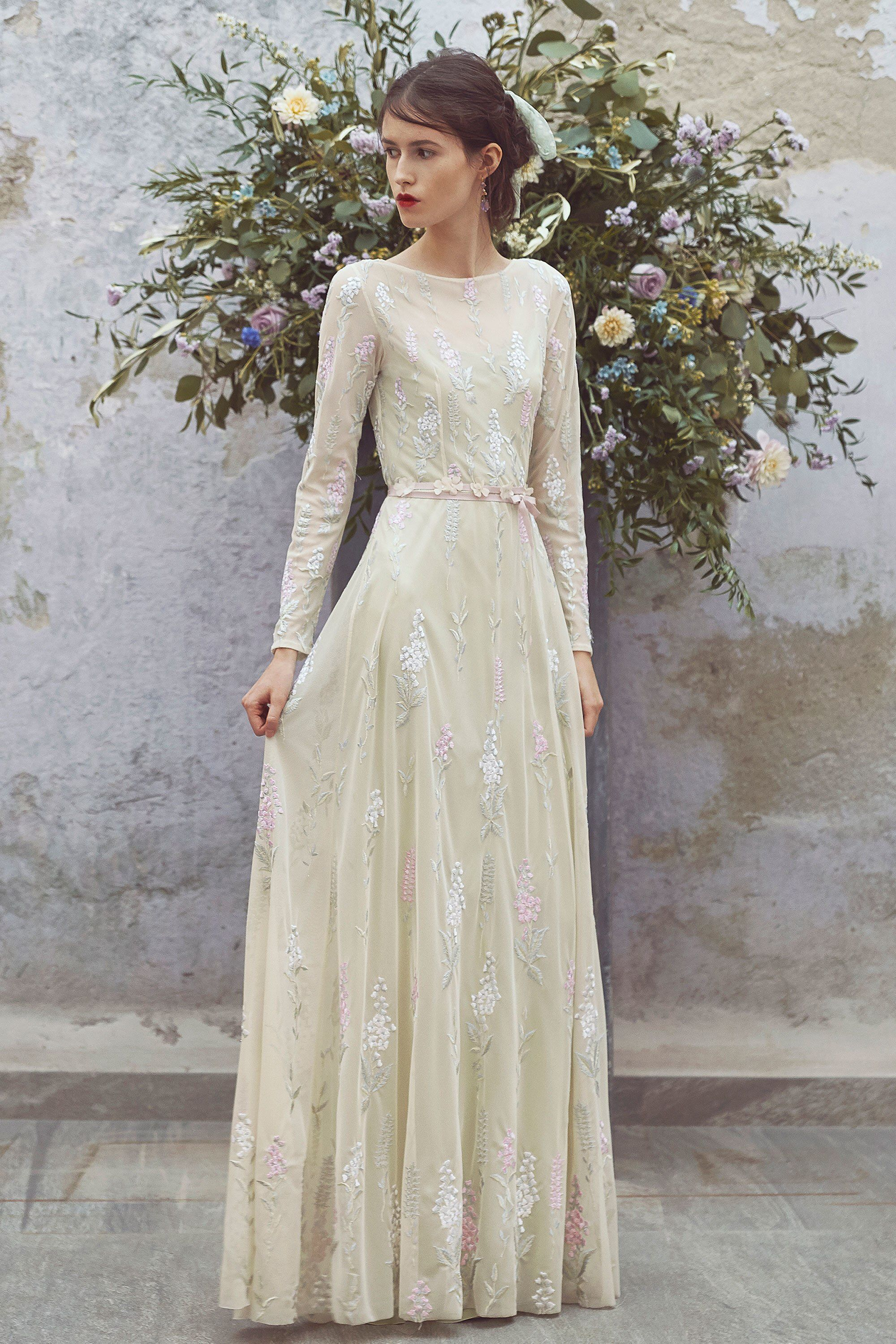 Luisa Beccaria Resort 2018 Fashion Show Dresses, Gowns