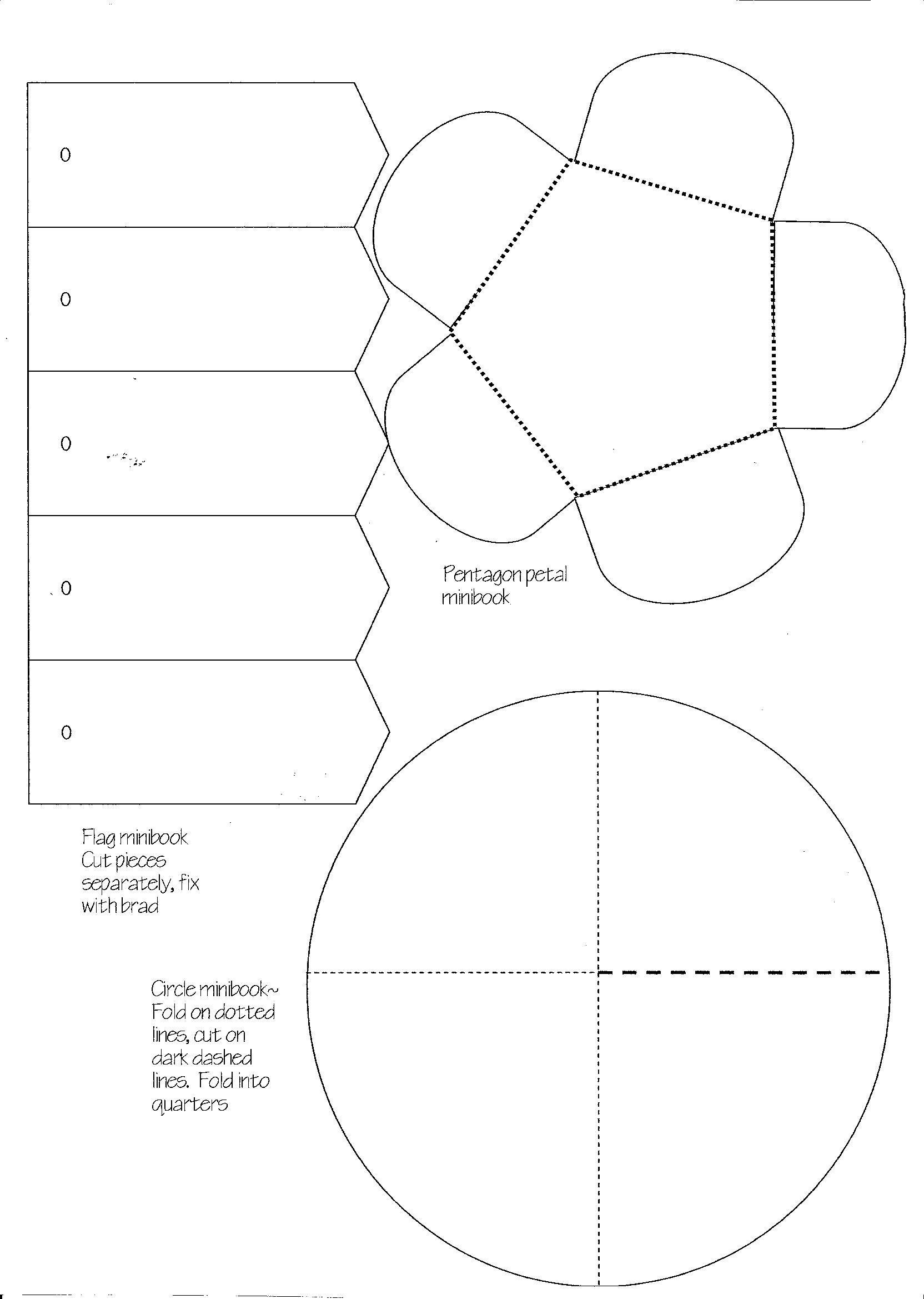 Minibook Master Template Download   LAPBOOK   Pinterest ...