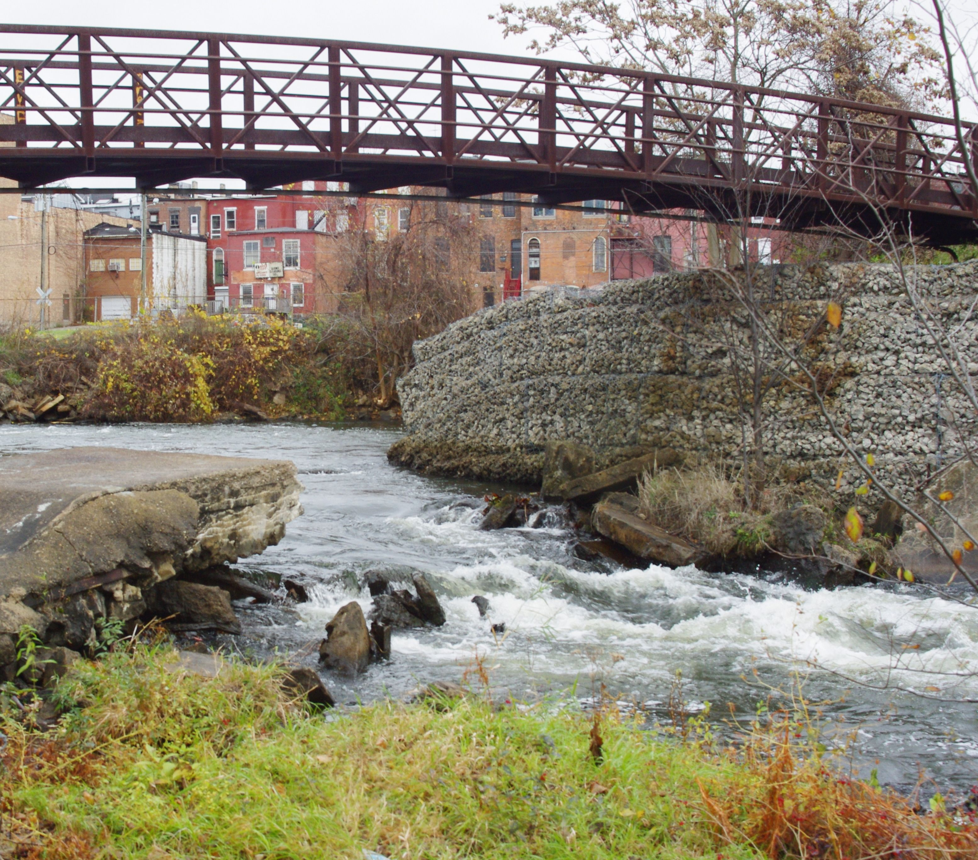 One Of The Bridges Across The Rocky River At Memory Isle