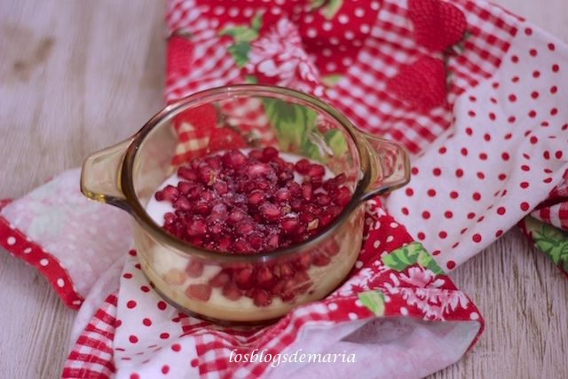 Crema De Mascarpone Con Granadas Receta Cuisine