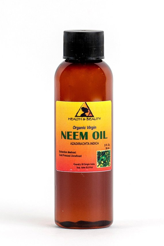 2 oz NEEM OIL UNREFINED Organic Carrier Cold Pressed ...