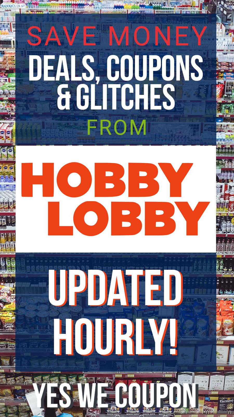 43+ Hobby lobby home decor coupon information