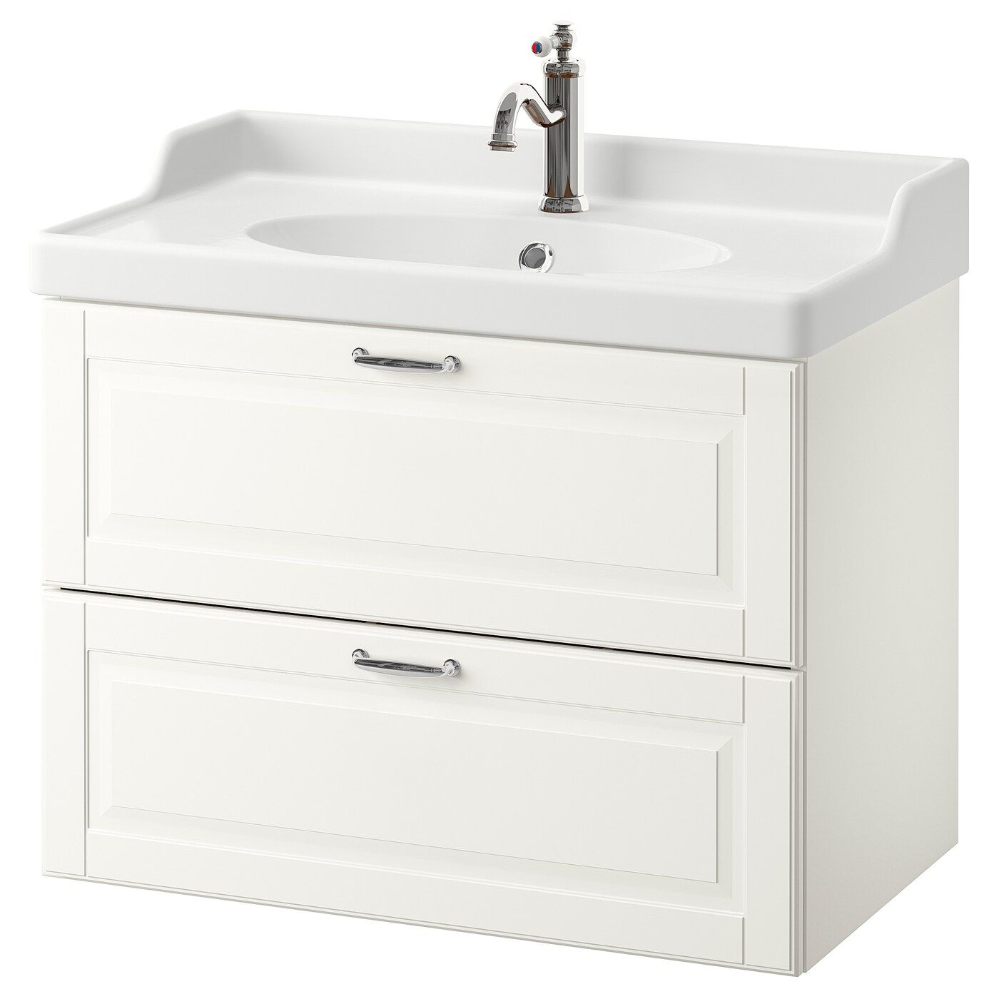 Ikea Godmorgon Rattviken Sink Cabinet With 2 Drawers In 2020 White Vanity Bathroom Home Depot Bathroom Vanity Bathroom Sink Vanity