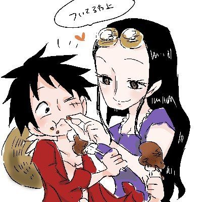 Niko robin monkey d luffy vk luffyxrobin pinterest robins and nico - One piece luffy x robin ...