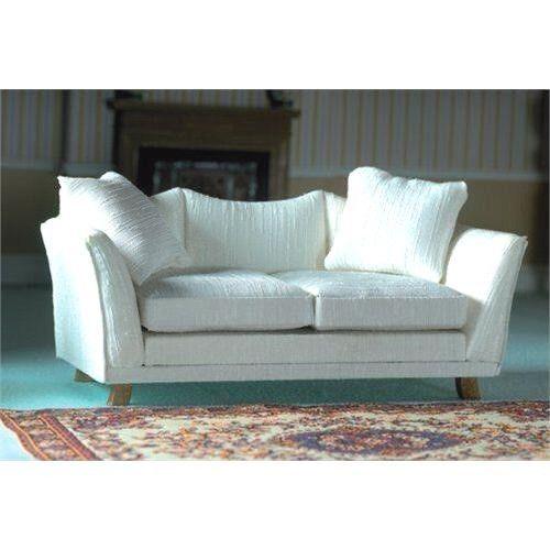 Dolls House Furniture Classic Pale Cream Sofa 12th scale