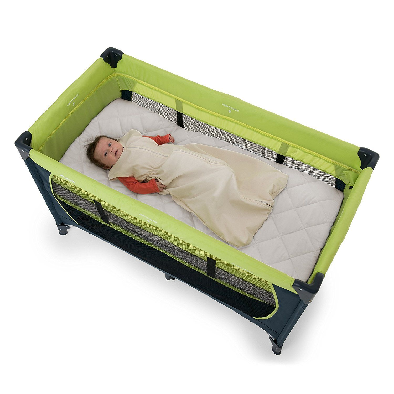 finest selection 3b762 c1f11 How to choose travel cot mattress hauck bed me travel cot ...