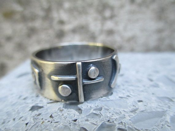 story of my life   size 11 wide  sterling silver mans band , modern story ring
