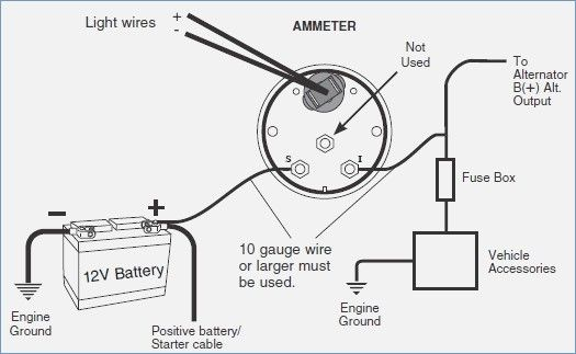 Awesome Auto Meter Volt Gauge Wiring Diagram Electrical