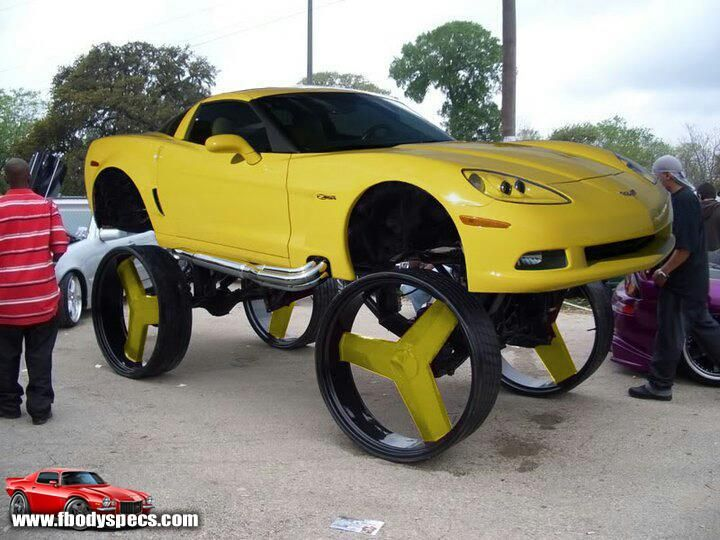 Lifted Sports Cars Images Custom Cars Donk Cars Weird