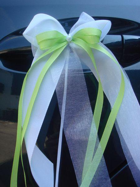 SCH0011 10 Antennenschleifen Autoschleife Hochzeit von