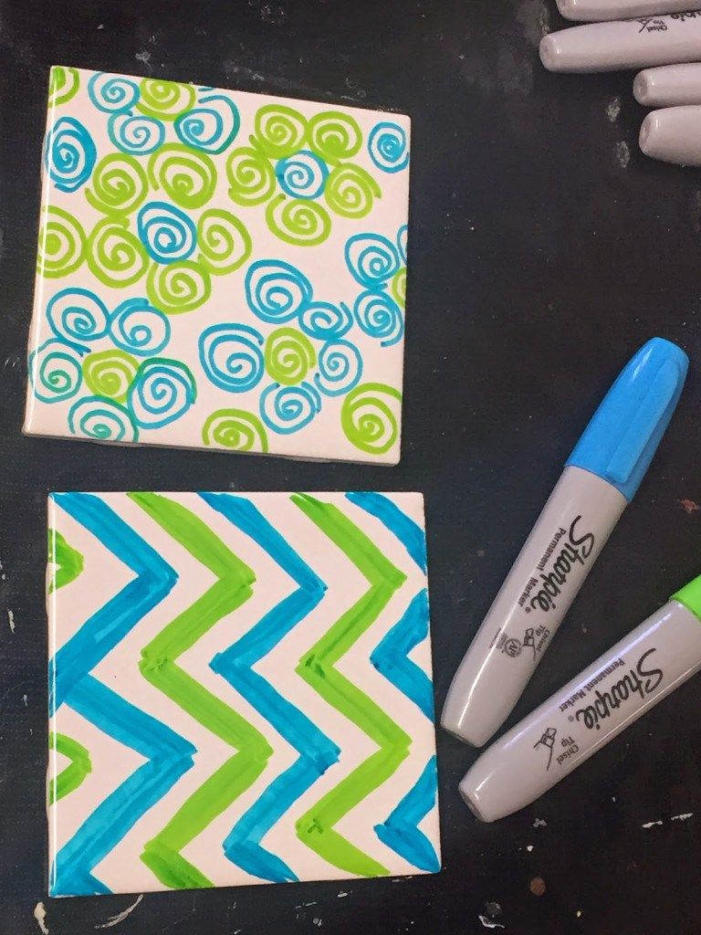 It S So Fast And Easy To Make These Versatile Sharpie Tile