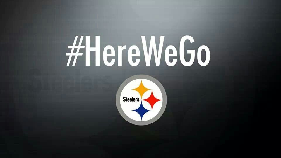 Here We Go Steelers Football Steelers Country Pittsburgh