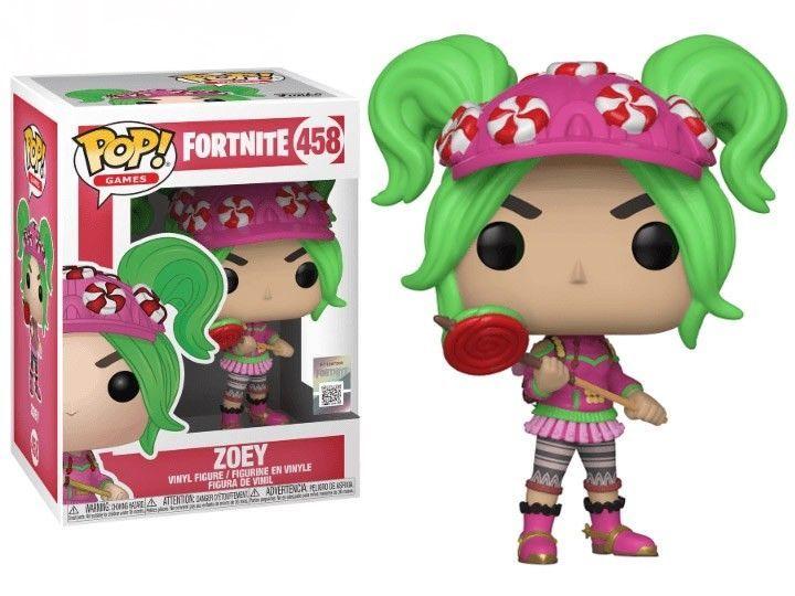 Funko Pop Fortnite Season 2 Zoey 458 Fortnite