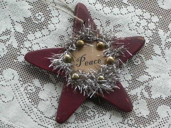 Folk Art Star Ornament Folk art, Folk and Ornament