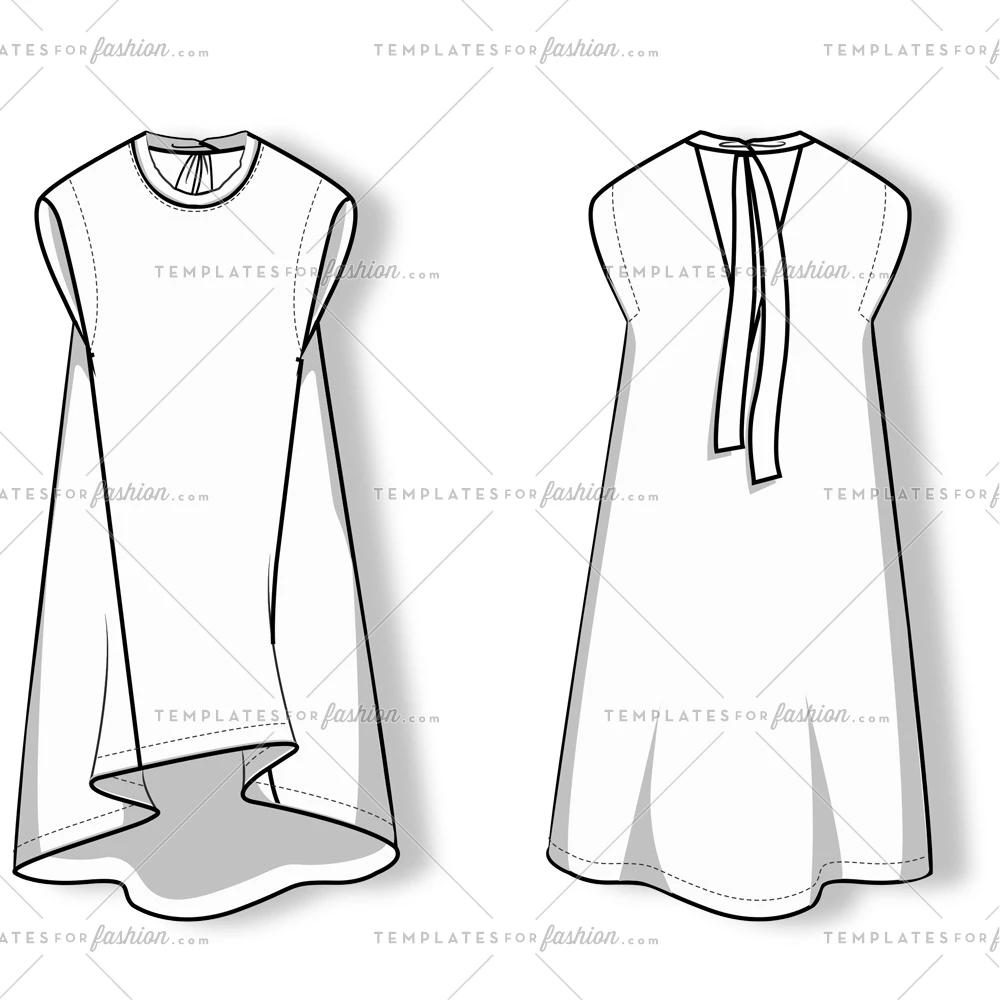 Free Fashion Flat Templates Trim Pack Moda Dlya Pyshnyh Devushek Boho Vykrojki