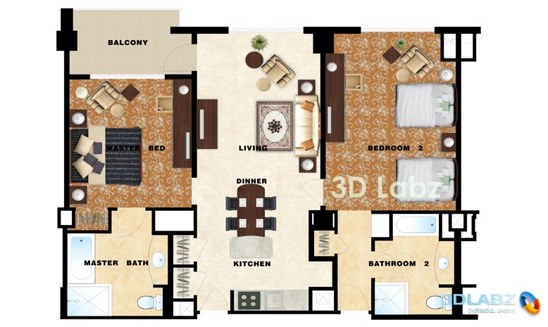 1000 images about Architecture Colored floor plan on Pinterest
