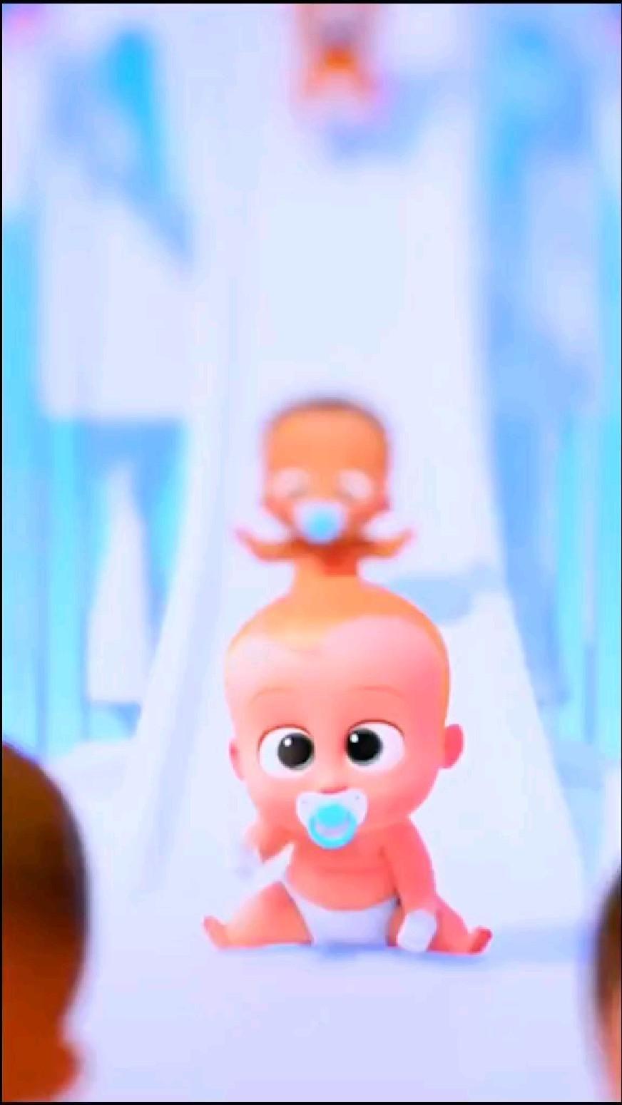 Cute Baby Boss 4k