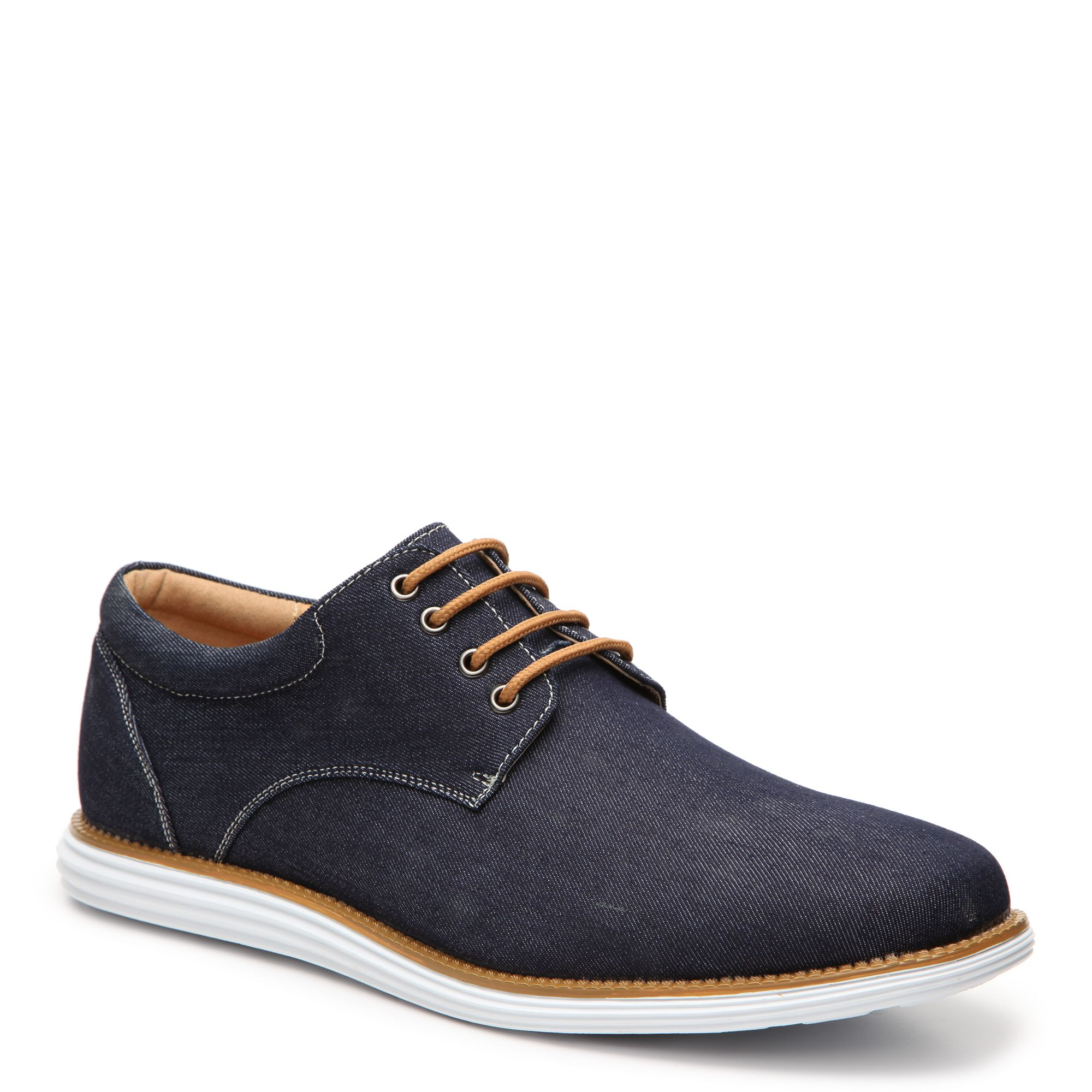 These cool men\'s oxfords would look great with khaki\'s. #gordmans ...
