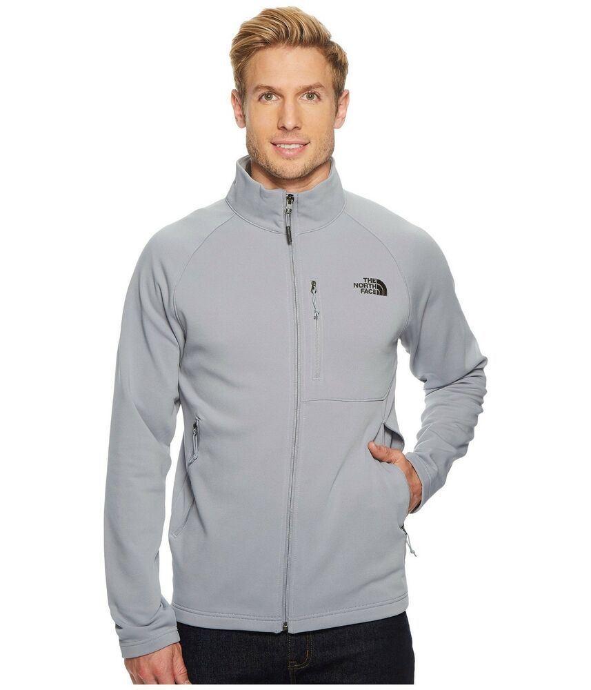 e41f4d348 Mens The North Face Jacket Tenacious Full Zip Softshell Coat Mid ...