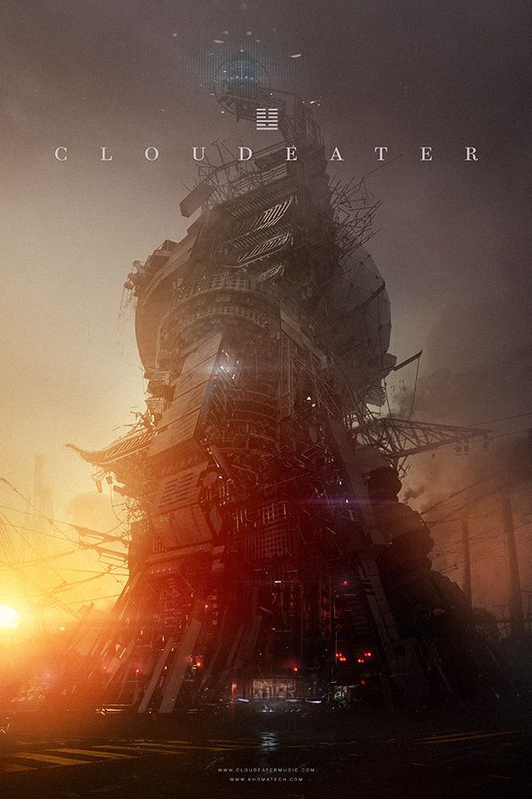 CLOUDEATER by khomatech , via Behance